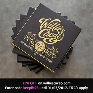Willie's Cacao - Keep Fit Kingdom