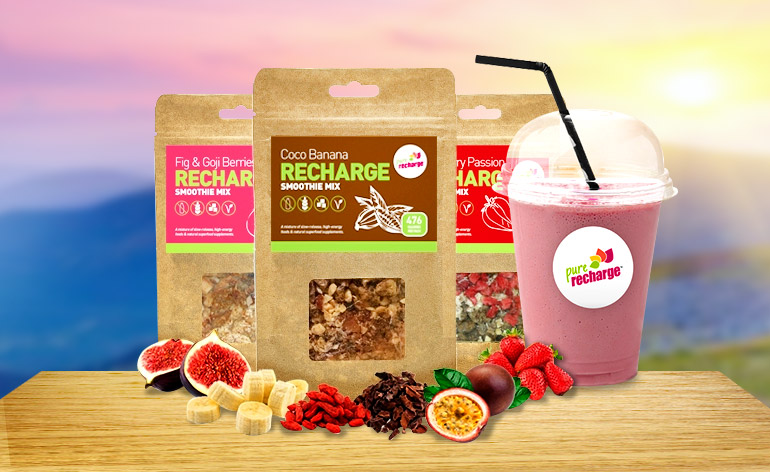 Pure Recharge Smoothies new