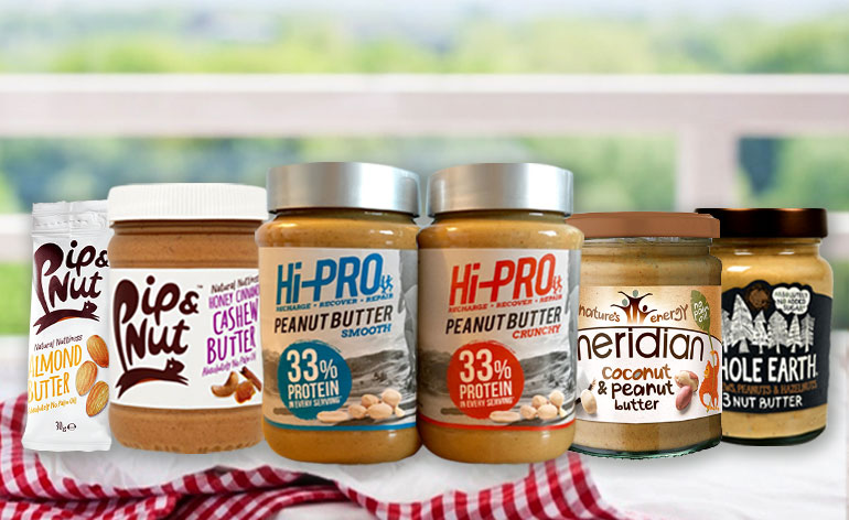 Top 5 Nut Butters! - Keep Fit Kingdom