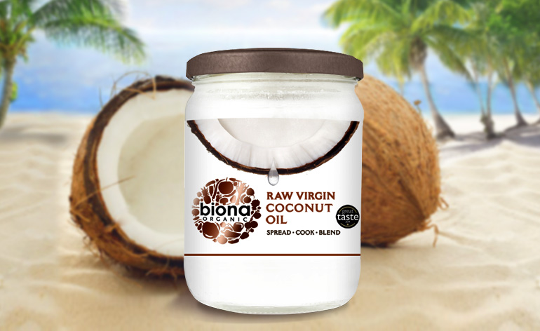 Biona Organic Raw Virgin Coconut Oil Keep Fit Kingdom 770x472