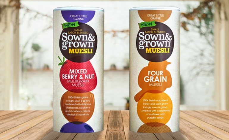 Great Little Grains - Sown & Grown Cereals - Keep Fit Kingdom