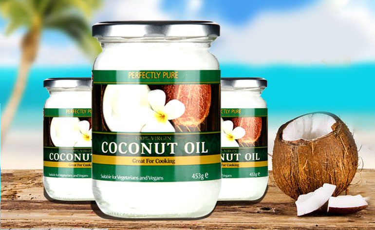Perfectly Pure Extra Virgin Pure Coconut Oil Keep Fit Kingdom 770x472