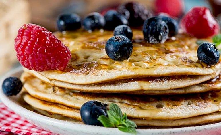 4 Healthy Pancake Ideas! -Keep Fit Kingdom