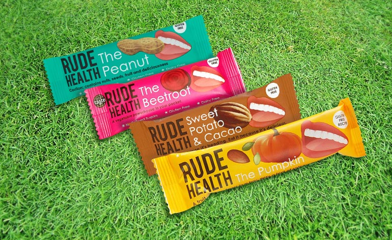 Rude Health Snack Bars - Keep Fit Kingdom