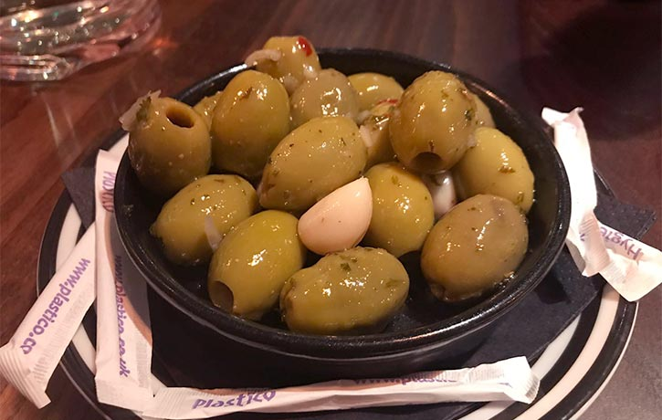 Juicy olives!