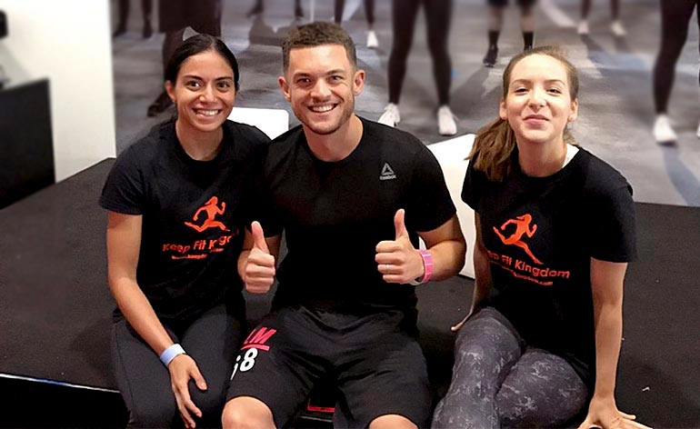 Les Mills Live Weekend 2017 Keep Fit Kingdom 770x472