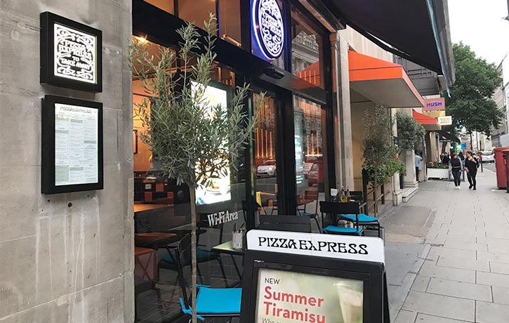 Pizza Express High Holborn -London