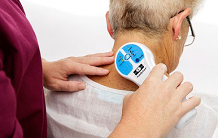 The Handy Cure is suitable for chronic pains in the older patient