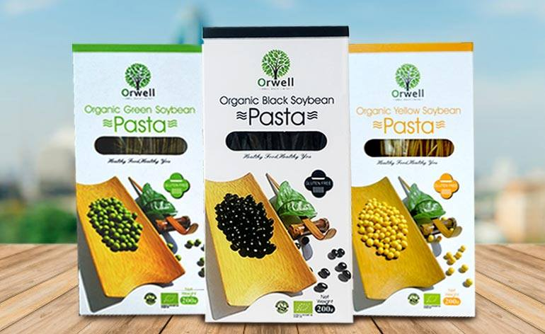 Orwell Health Organic, Vegan Soybean Pasta -Keep Fit Kingdom