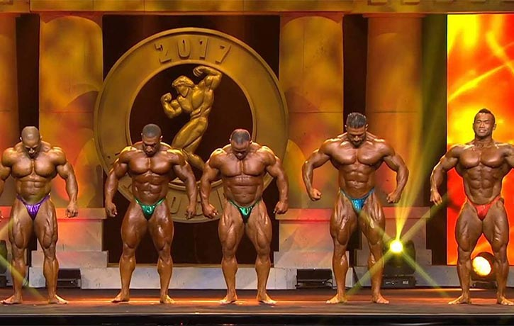 Generation's bodybuilders