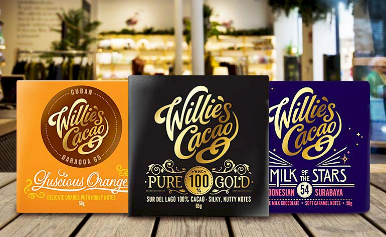 Willie's Cacao - Finest Quality Chocolate - Keep Fit Kingdom