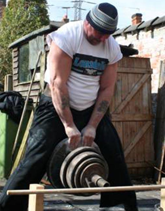 David Horne pinch grip