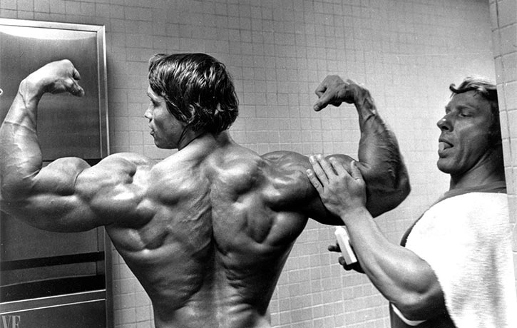 Arnold's incredible back development