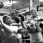 Camera crew on Pumping Iron