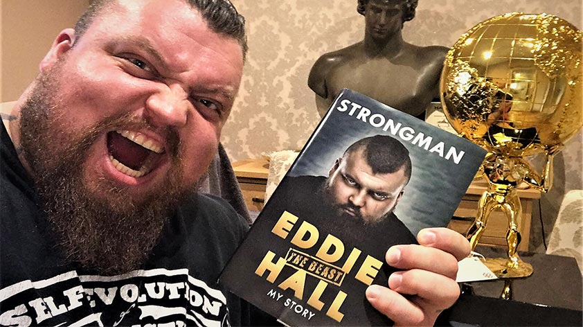 Strongman - My Story Eddie Hall -Keep Fit Kingdom