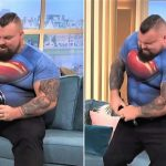 World's Strongest Man Folds a Frying Pan on National TV! -Keep Fit Kingdom