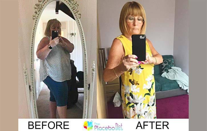 Val Sutcliffe before after