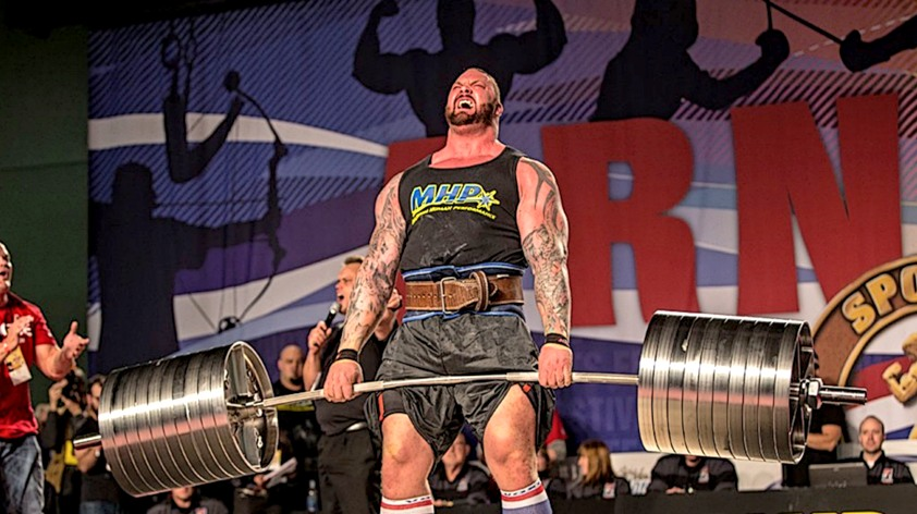 World's Strongest Men – Hafthor Bjornsson