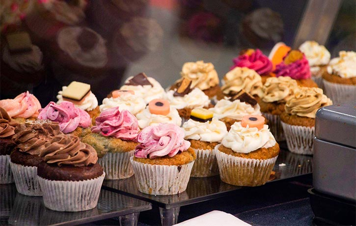 Luscious vegan cupcakes