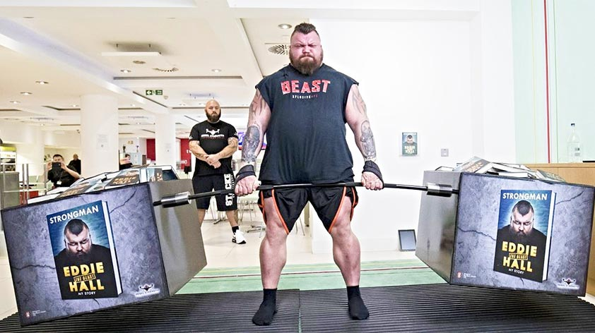 World's Strongest Men – Eddie Hall -Keep Fit Kingdom