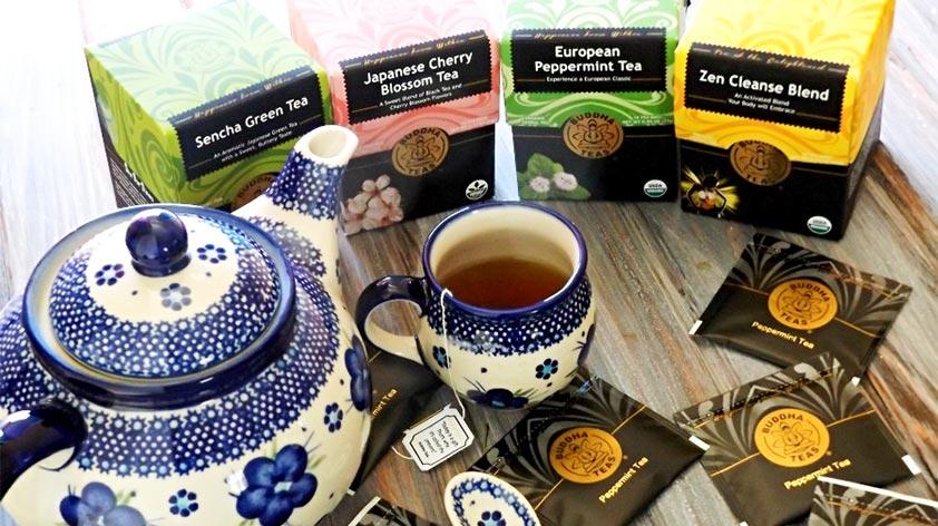 Buddha Teas - Organic Herbal Teas -Keep Fit Kingdom