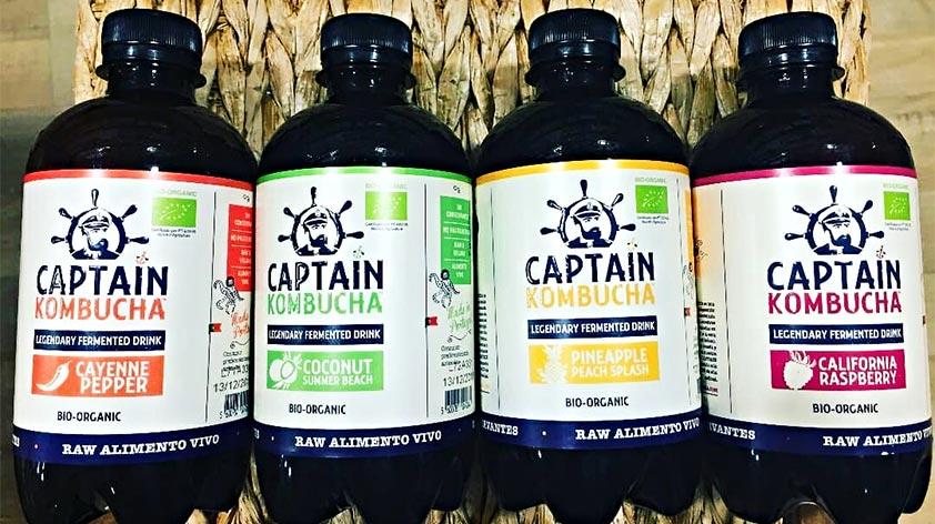 Captain Kombucha - Bio-Organic Fermented Drink -Keep Fit Kingdom