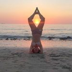 Forrest Yoga on the beach
