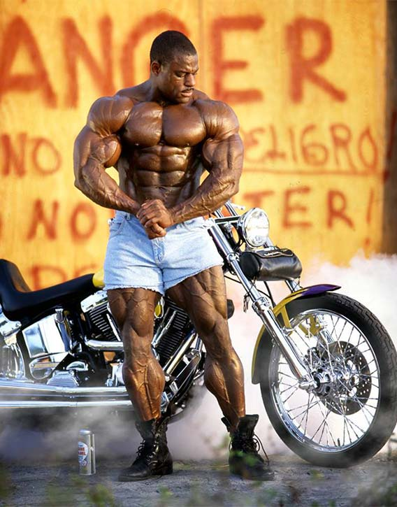 Vince had an incredible physique