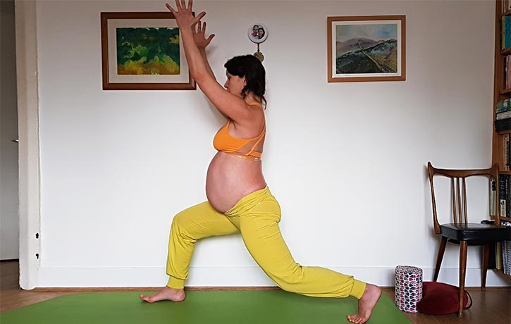 Yoga is highly recommended whilst pregnant