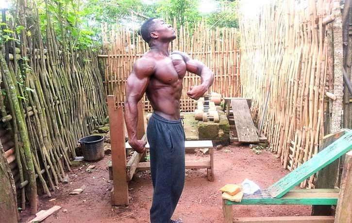 Samuel Kulbila -African bodybuilder