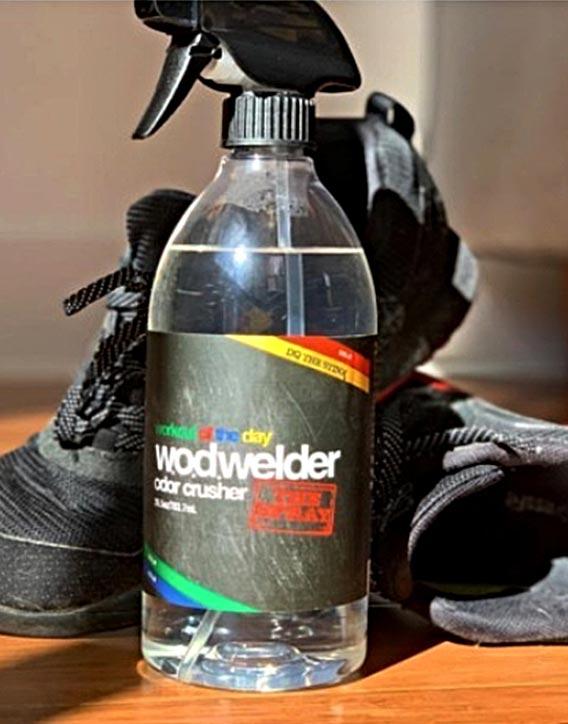 W.O.D. Welder Odor Crusher Spray -a rugged solution