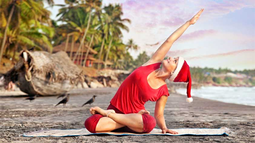 5 Yoga Poses You Should Do for an Even Merrier Xmas! -Keep Fit Kingdom