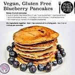 Juliettes vegan blueberry pancake recipe