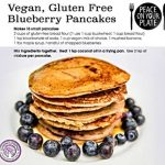 Juliette's vegan blueberry pancake recipe