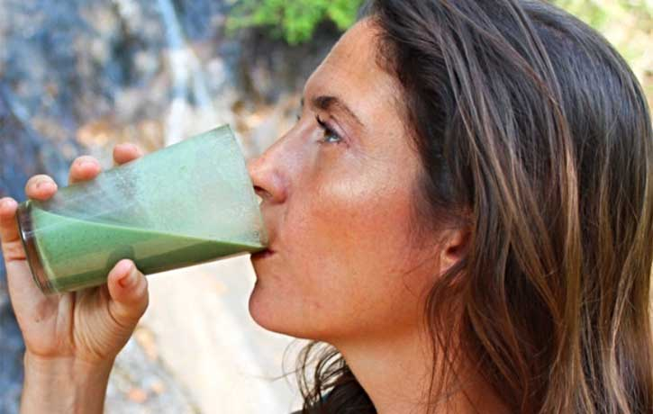 Nothing better than a green smoothie