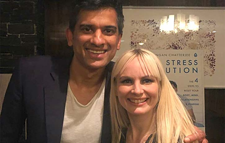 Dr Gemma discusses stress with Dr Rangan Chatterjee