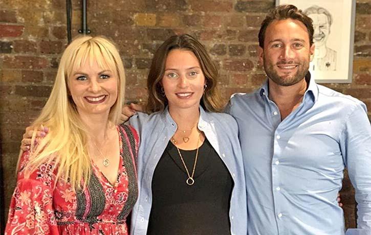 Dr Gemma with Deliciously Ella, Matt and Baby Skye