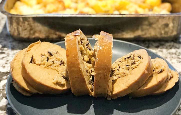 Vegan Pumpkin Roast