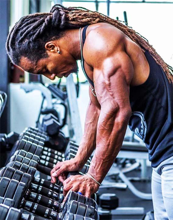 Impressive triceps