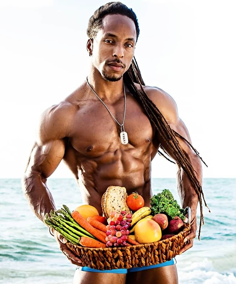 Torre Washington -vegan bodybuilding