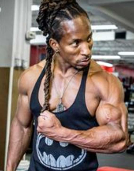 Torres vegan built muscle
