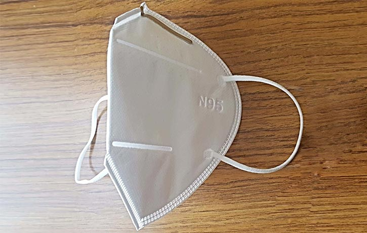 N95 Sterile Mask CE NQA Approved 2 1