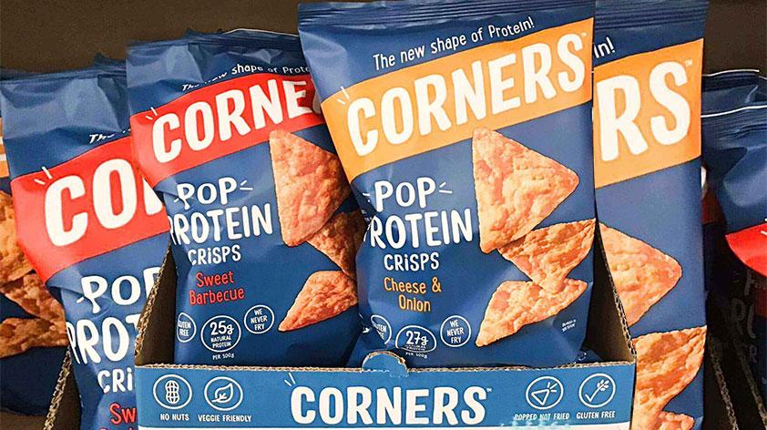 Corners Gluten Free Pop Protein Crisps Keep Fit Kingdom 842x472