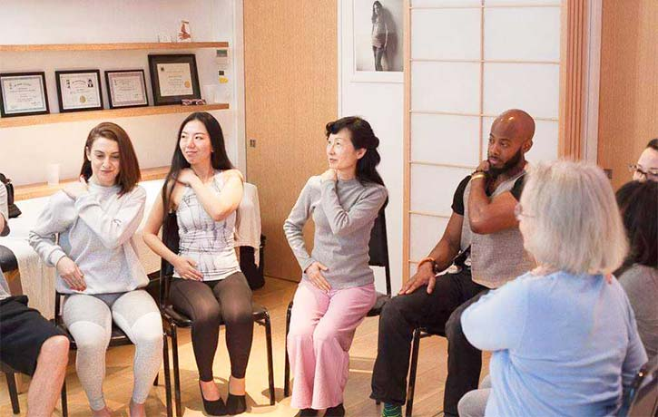 Group therapy at JSI