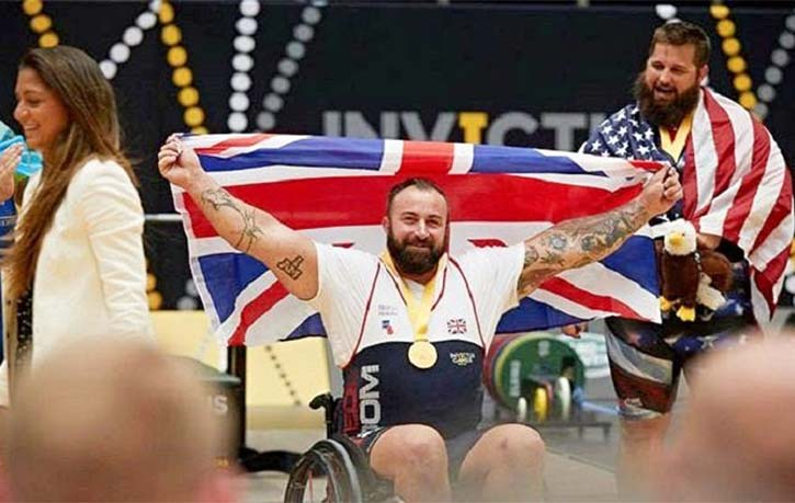 Tye claimed numerous medals at the Invictus Games dominating in rowing and weightlifting