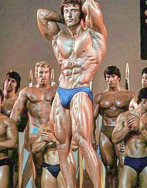 Frank Zane in statue fine form