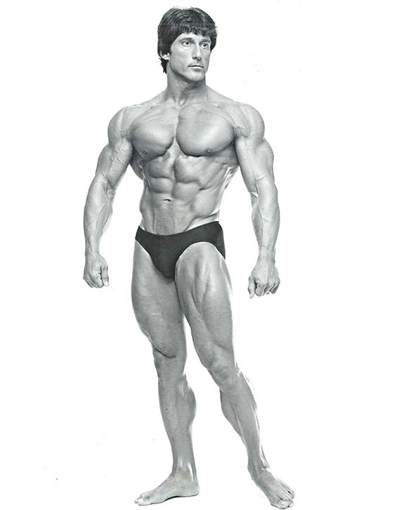 Frank Zane muscle with class