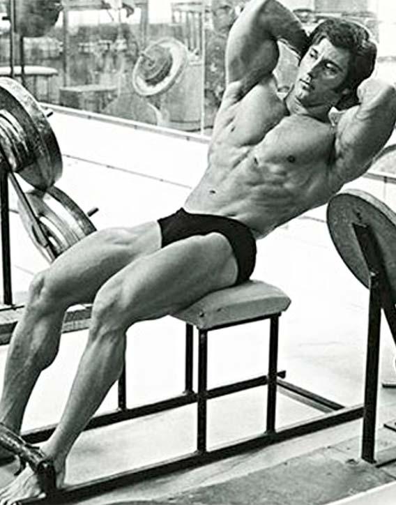 Frank Zane used to do 1000 sit ups a day
