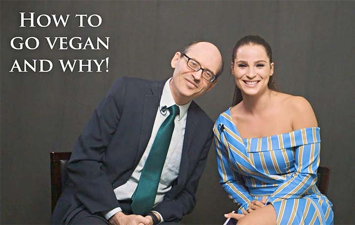 Gianna interview the renown Dr Michael Greger