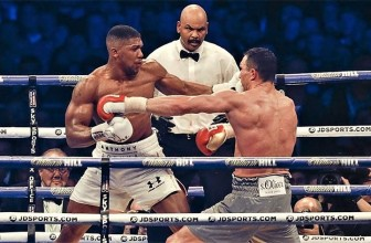 Top 5 Anthony Joshua Knockouts!